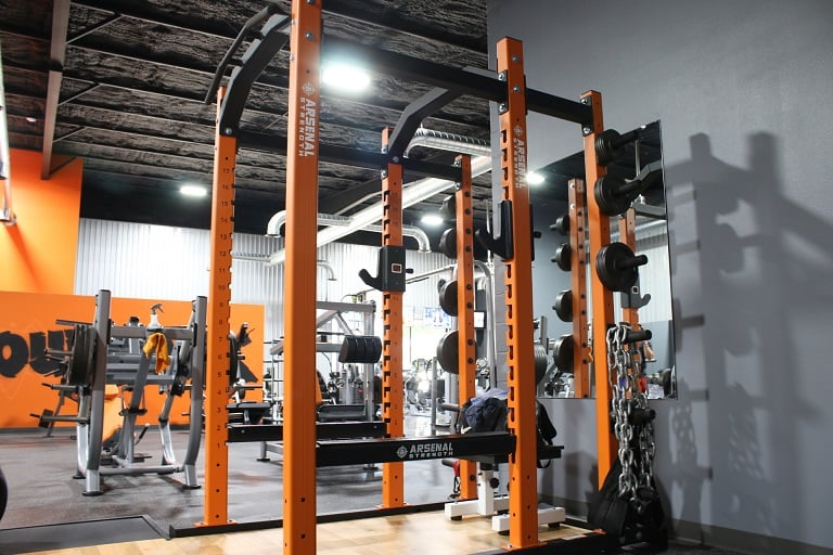 Arsenal Strength squat rack